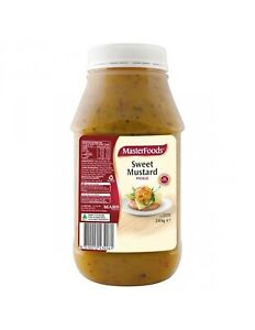 Masterfoods Sweet Mustard Pickle Relish 2 6kg 9310012434061 Ebay