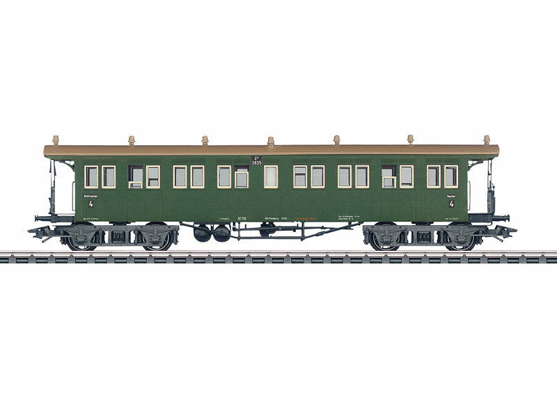 Märklin 42143 Schnellzug-Plattformwagen C4 der W.St.E. 4. Klasse  NEU in OVP