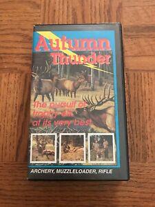 Autumn Thunder VHS