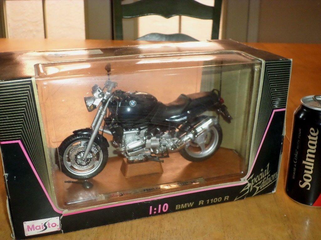 BMW R 1100 R moto Maisto DIE CAST METAL factory toy, échelle  1 10