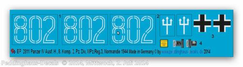 Komp 2 Panzer Division II//Pz.Reg.3 Peddinghaus 2811 1//16 Panzer IV Ausf H 8