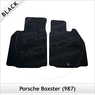 Porsche Boxster 986 1996-2004 a medida Alfombras coche tapetes negro