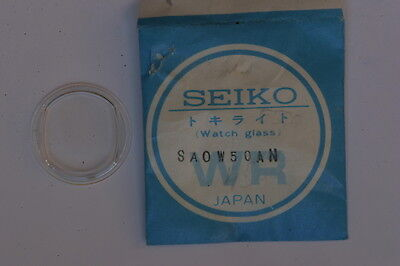 Seiko RE0W28AN Vetro Crystal Glass Uhrenglas Verre Original per 5606-5150 NOS