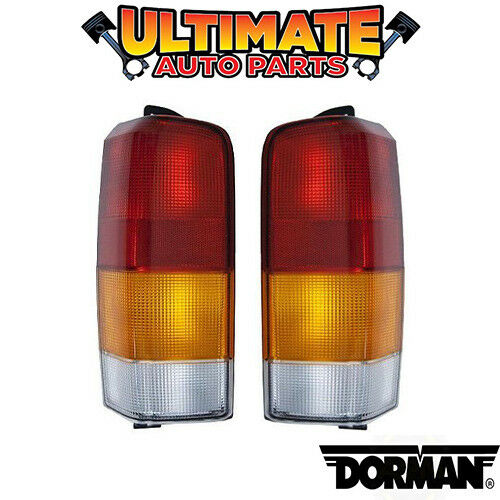 Tail Light Lamp Left /& Right Set Lights Lamps for 97-01 Jeep Cherokee XJ Sport