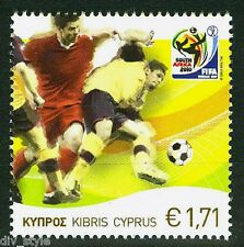 2010 South Africa World Soccer Championship mnh stamp Cyprus #1128