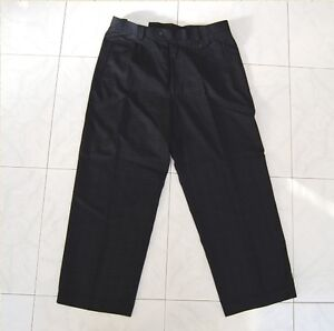 9ffa38955cc4 Details about Vicci Uomo men's pants designer label dark navy new with tags  $40.00 price tag