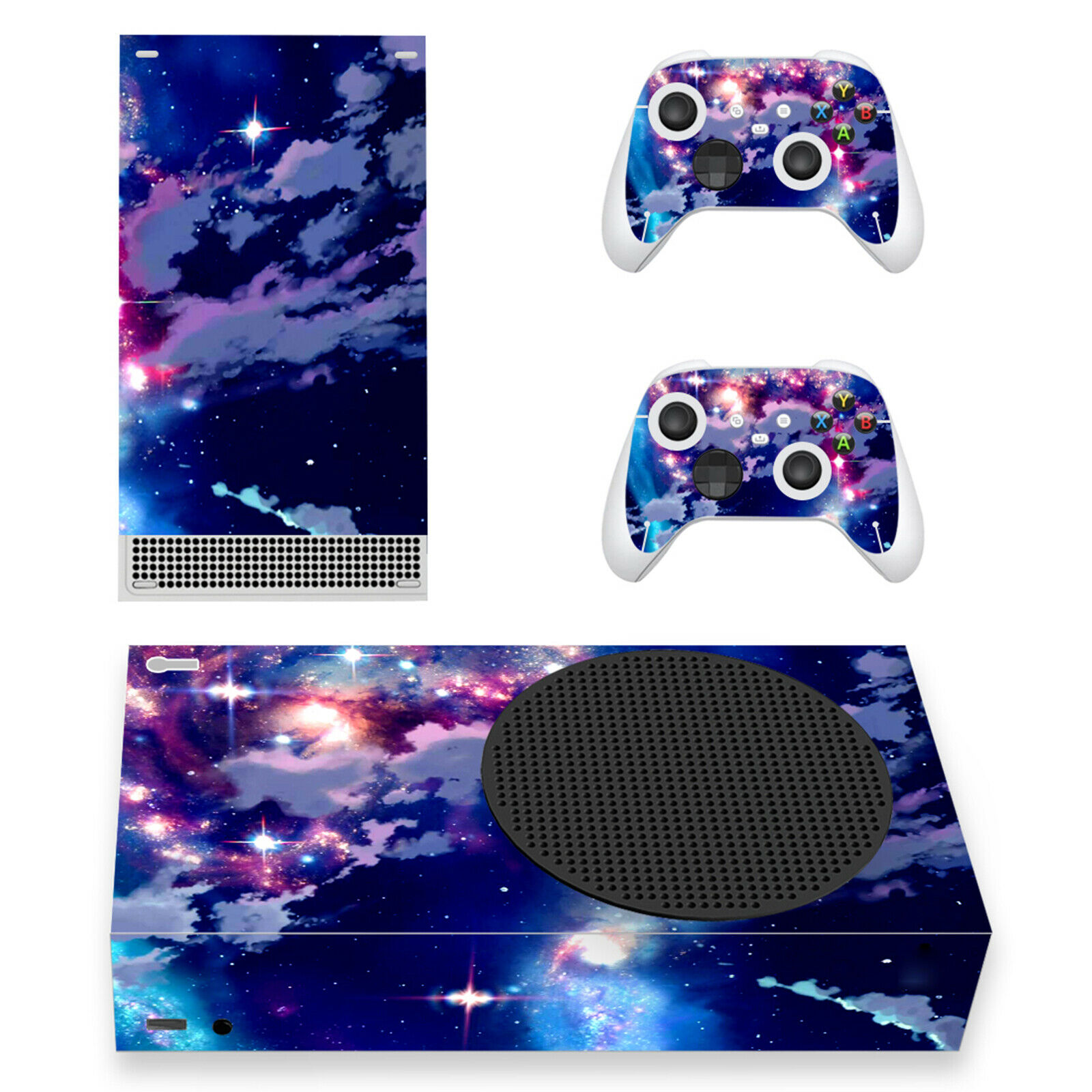 For Xbox Series S Game Console 1*Game Console Protector Skin Sticker Decal Cover
