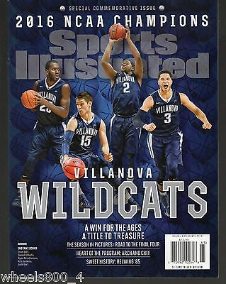 Sports Illustrated 2016 Villanova Wildcats NCAA Champions Commemorative Issue NM