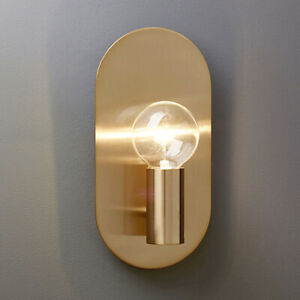 Gold Metal Wall Sconce Light Fixtures Modern Led Wall Lamp For Bedroom Art Deco Ebay
