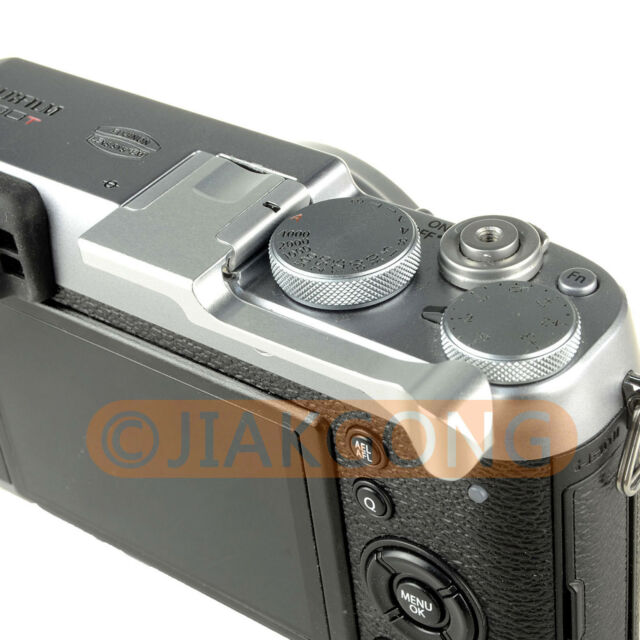 DSLRKIT Silver Thumb Up Grip for Fujifilm X-100T X-M1 X-30 X-A2 X-A1