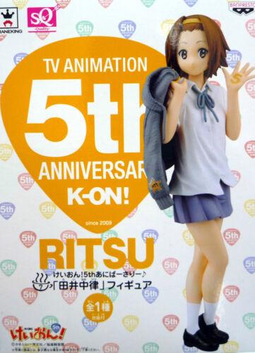 K-ON KEION RITSU TAINAKA SQ TV Animation 5th Anniversary Figure