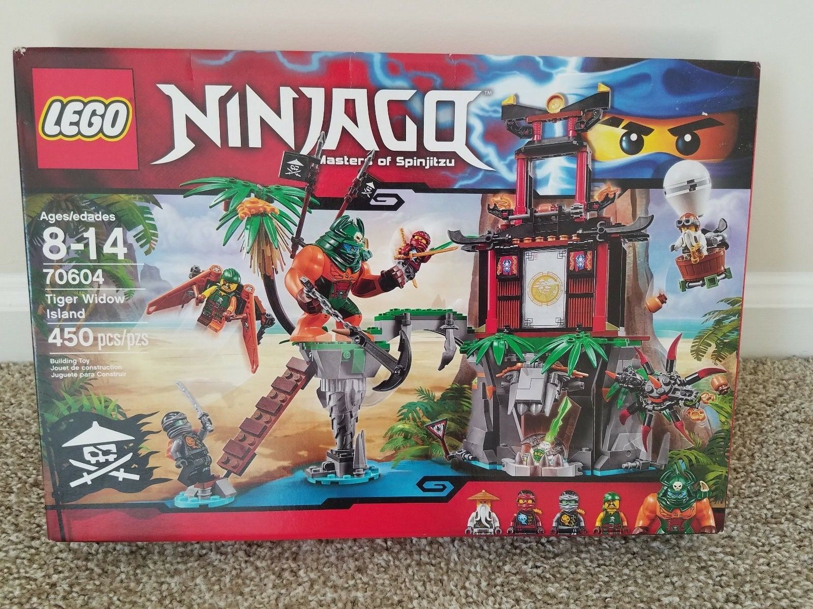 LEGO Ninjago 70604 Tiger Widow Island NEW Sealed RETIrosso