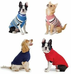 Ancol-Xtra-Warmth-Muddy-Paws-Alpine-amp-Cable-Knit-Dog-Puppy-Jumpers-Sweaters