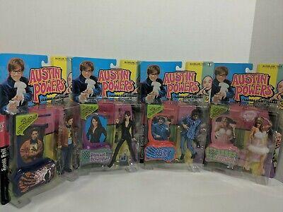 Austin Powers McFarlane Toys Action figures Sealed Dr Evil Fembot Vanessa Scott