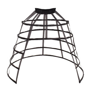 Bustle Skirt Pannier Cage Hoop Crinoline Costume Prom Dress Underskirt Petticoat