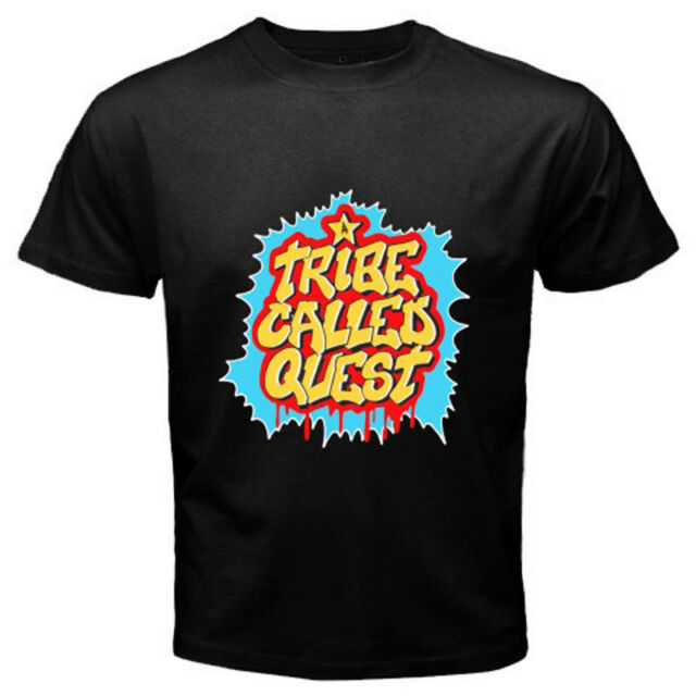New A TRIBE CALLED QUEST *ATCQ Q-TIP Rap Hip Hop Men's Black T-Shirt Size S-3XL