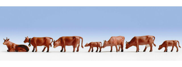 Noch Brown Cows 15720  HO and OO Scale