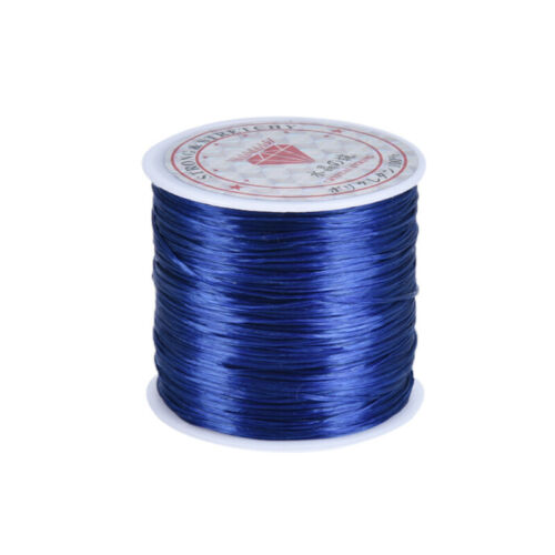 60M Crystal Elastic Beading Cord String Thread DIY Bracelet Jewelry FindiR/_yk
