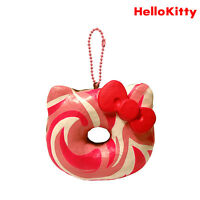 Authentic Sanrio Licensed Hello Kitty Big Donut Squishy - Strawberry Marble
