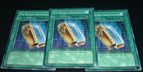 Yugioh The Second Sarcophagus DR2-EN213 NM//MINT 3X Common