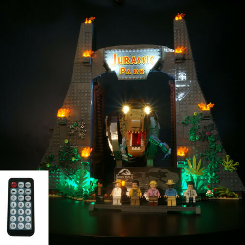 rex Rampage T Remote Control LED Light Up Kit For LEGO 75936 Jurassic Park