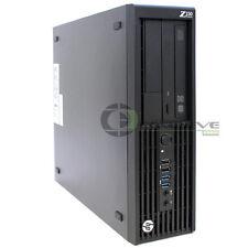 HP Z230 SFF Workstation D1P35AV Intel Xeon E3-1245v3 3.40GHz 8GB 500GB HDD Win10