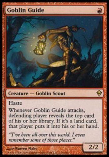 Goblin Guide NM MTG magic ZEN MRM FRENCH Guide Gobelin