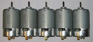 5-X-Mabuchi-555-12-VDC-Deer-Feeder-Motor-Large-4500-RPM-Hobby-DC-Motors