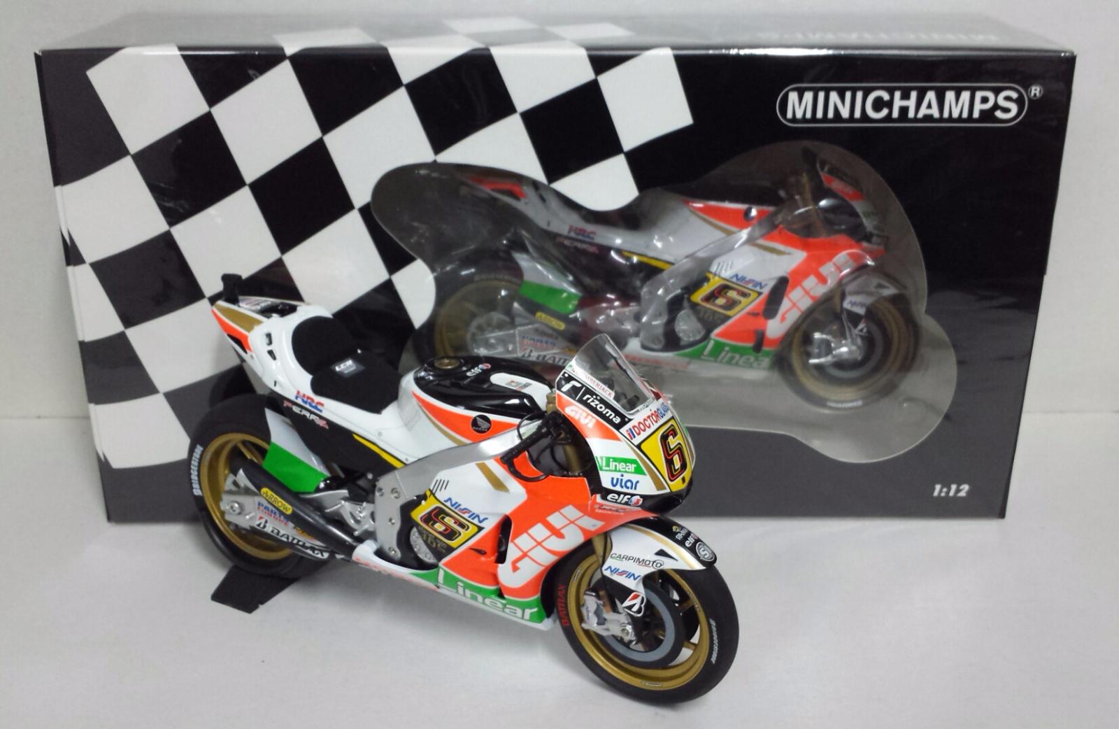 MINICHAMPS STEFAN BRADL 1 12 MOTO HONDA RC 213V MOTOGP 2013 EDITION LIMITÉE NEW