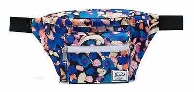 Herschel Seventeen Hip Pack Borsa Painted Floral Blu Giallo Nuovo-