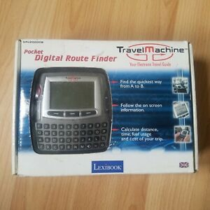 lexibook digital route finder travel machine nav20000b uk gb map pre car sat nav ebay. Black Bedroom Furniture Sets. Home Design Ideas