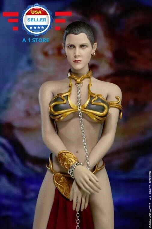 1/6 Princess Leia Organa Star Wars Slave Outfit Set For PHICEN Hot Toys