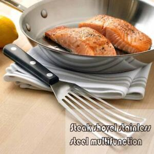 1x-Steak-Slotted-Shovel-Fish-Spatula-Multi-Purpose-Stainless-Steel-Cooking-Tool