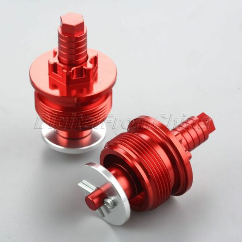1 Pair 37mm CNC Preload Adjusters Fork Bolts Cap for Honda CBR250RR 1996 1995 94