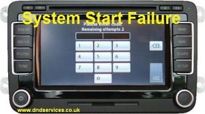 Details about VW RNS510 System Start Boot Up Splash Screen Boot Up Repair  Service