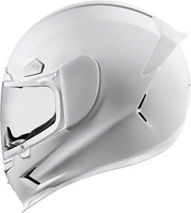 icon airframe pro white full face motorcycle street helmet. Black Bedroom Furniture Sets. Home Design Ideas