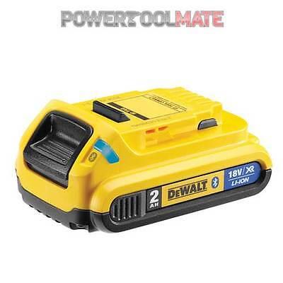 Dewalt DCB183B 18v 2Ah Bluetooth Slide Li-ion Battery Pack