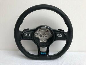 Vw-Golf-7-R-Lenkrad-Lederlenkrad-DSG-Black-Schwarz-Original