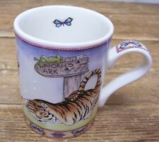 Arthur Wood Noahs Ark Tiger Cat Animal Coffee Mug Cup