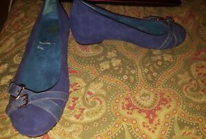 Weil-with-Orthaheel-Technology-US-6-5-EUR-37-5-UK-4-5-blue-flats-shoes