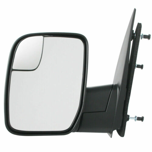 New FO1320396 Driver Side Textured Black Mirror For Ford E-250 2010-2013
