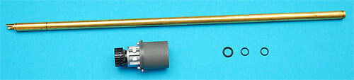 G&P 6.08mm Inner Barrel w Hop Up Chamber Set for M Series Airsoft (B, 325mm)