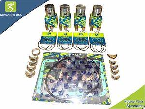 Details about New Kubota L345 L345DT Overhaul Kit STD on kubota l245, kubota l295, kubota l245h, kubota l210, kubota b5100e, kubota 345 dt information, kubota m4500dt, kubota l185, kubota b26tlb, kubota l295dt, kubota b6100d, kubota l275, kubota l285,