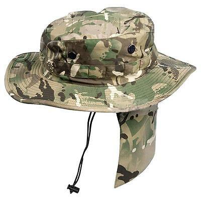 Genuine British Army MTP Boonie NEW Bush Hat Multicam ATC Cadets All Sizes