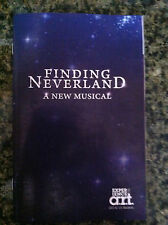 Finding Neverland playbill musical A R T Jeremy Jordan Laura Michelle Kelly pre