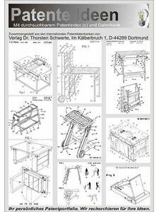 Tragbare Werkbank selbst bauen auf 300 Seiten! | eBay