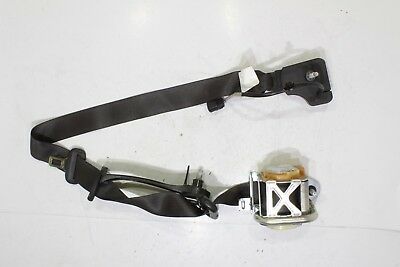 2012 FORD FOCUS Driver And Passenger Seat Belts Set Black With Pretensioners OEM