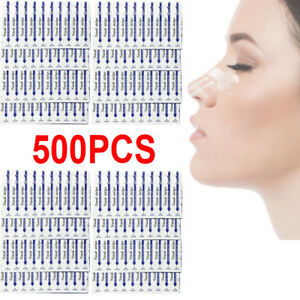 500pcs-Anti-Snoring-Clear-Nasal-Strips-Better-Breathe-Aid-to-Stop-Snoring-Patch
