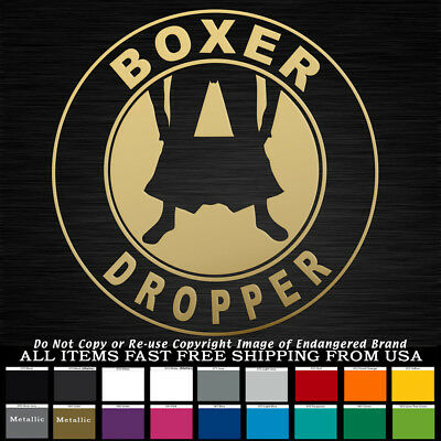 Panty Dropper Round Black Low Boost JDM Funny Truck Car Sticker Decal