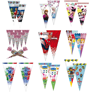 Sweet-Cone-Loot-Cello-Filler-Bags-Avengers-Princess-Paw-Patrol-Birthday-Party